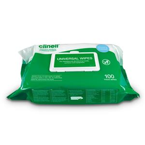 Clinell Universal  Heavy Duty Wipes 100 pack
