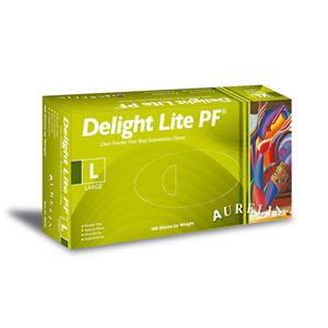 Delight Lite Vinyl Powder Free Examination Gloves