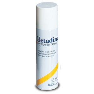 Betadine Anti-Microbial Dry Powder Spray
