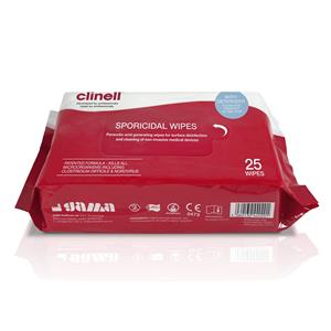 Clinell Sporicidal Wipes x25