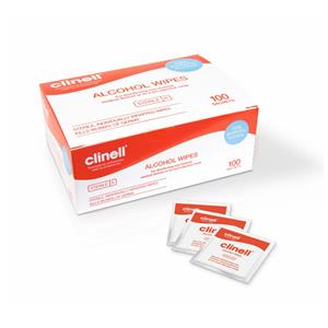 Clinell Sterile Alcohol Wipes in Sachets x100