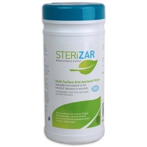 Sterizar Multi-Surface Anti-Bacterial Wipes x 200