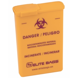 Elite EB110 Pocket-Sized Contaminated Sharps Container